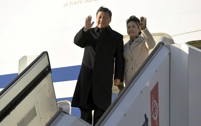 Hiina president Xi Jinping visiidil Soomes.