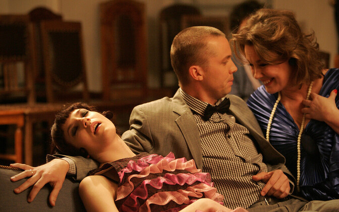 On the schedule is a Tallinn City Theatre production of