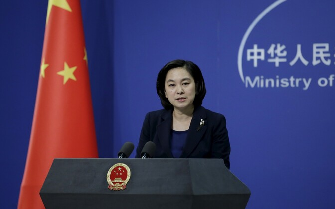 Hiina välisministeeriumi pressisindaja Hua Chunying.