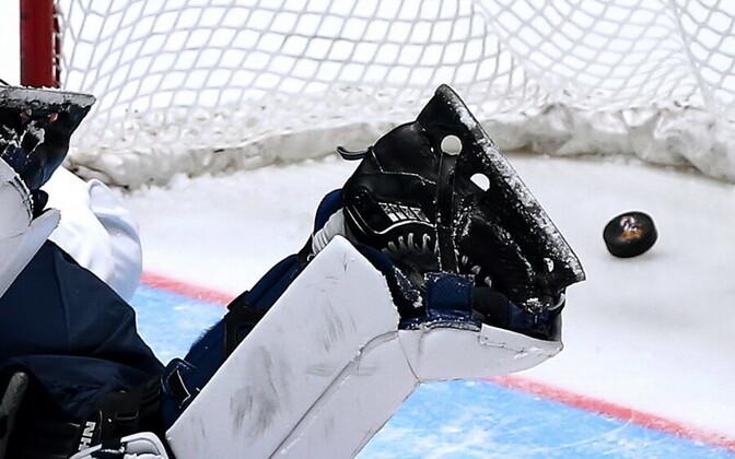 В чемпионате Эстонии команды показывают результативный хоккей