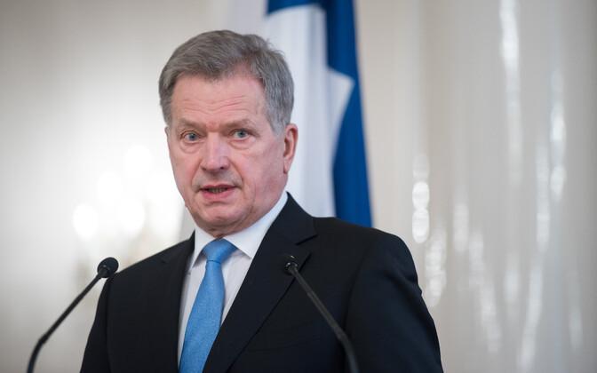 Soome president Sauli Niinistö.