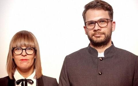 Karin Bachmann ja Mirko Traks