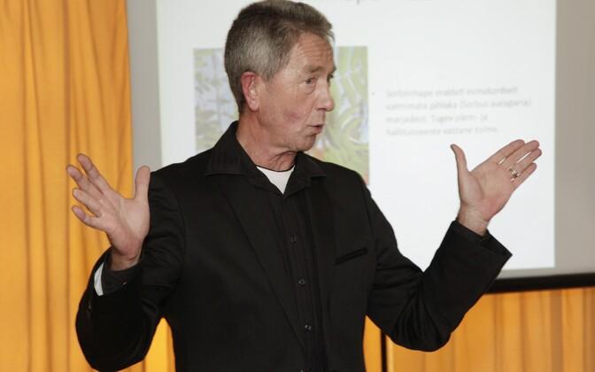 Эмерит-профессор Таллинского технического университета Райво Вокк.