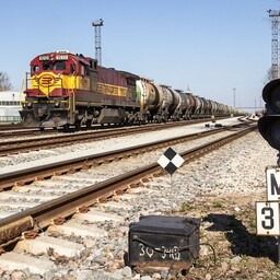 EVR Cargo freight train.