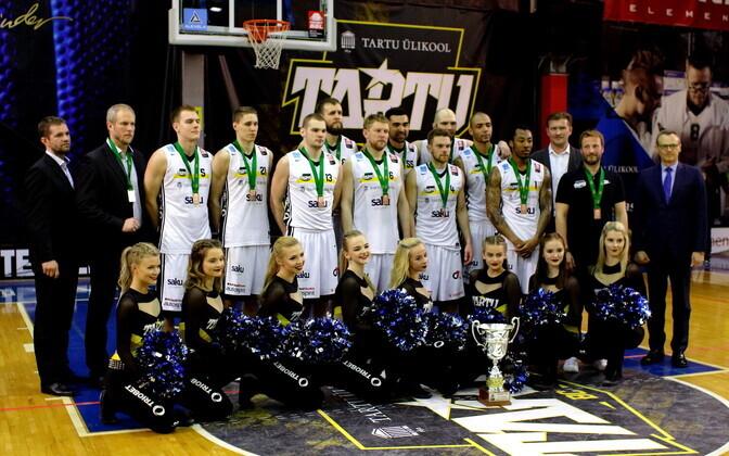 Korvpalli Balti liiga pronksi võitis Tartu Ülikooli korvpallimeeskond