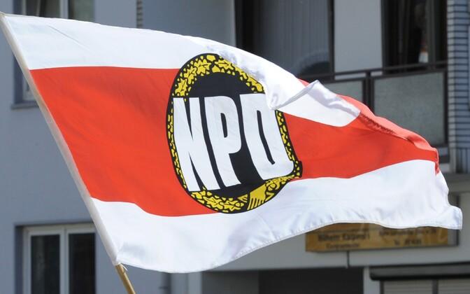 Natsionaaldemokraatliku Partei lipp.