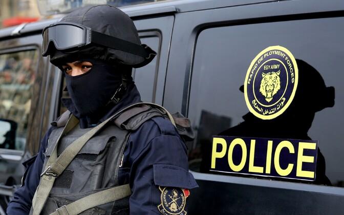 Египетский полицейский.
