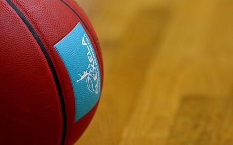 Alexela korvpalli meistriliiga logo