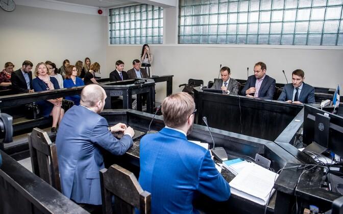 The PERH ex-directors' trial began April 10, 2017.