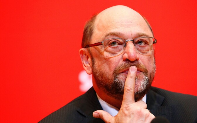 Saksamaa sotsiaaldemokraatide juht Martin Schulz.