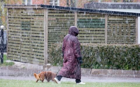 Alanud nädal toob vihma ja lörtsi.