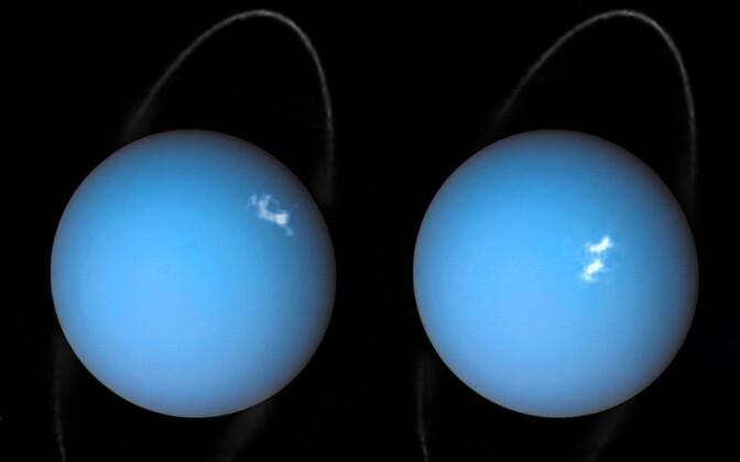 Virmalised planeedil Uraan.