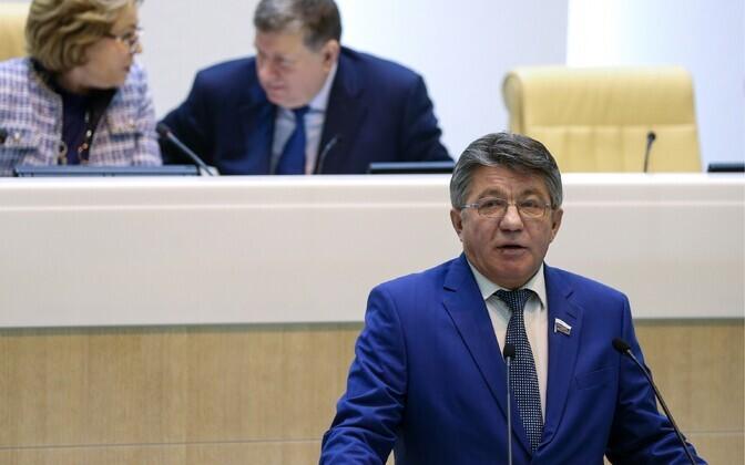 Vene föderatsiooninõukogu kaitse- ja julgeolekukomisjoni esimees Viktor Ozerov.