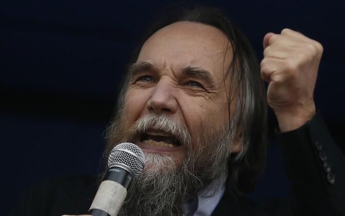 Venemaa marurahvuslasest ideoloog Aleksandr Dugin.