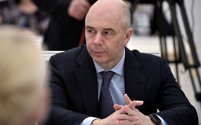 Venemaa rahandusminister Anton Siluanov.
