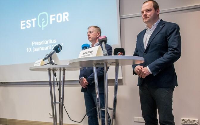 Est-For Investi juhatuse liikmed Aadu Polli ja Margus Kohava