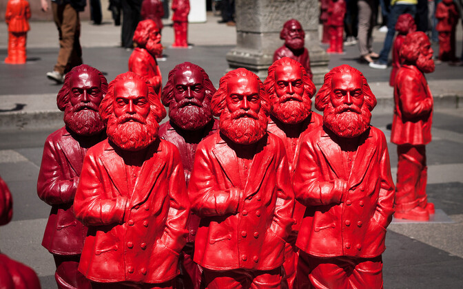 Millal kohtame loosungeid marksismist, leninismist ja kofeiinist?