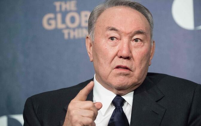 Kasahstani president Nursultan Nazarbajev.