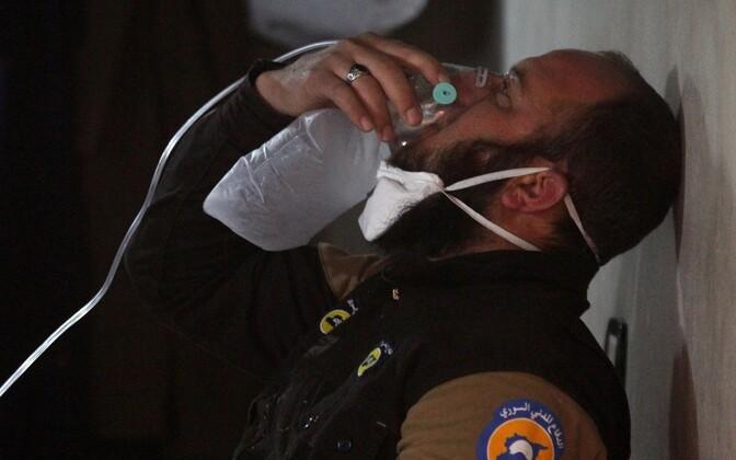 Жертвами химатаки в Идлибе 4 апреля стали несколько десятков человек.