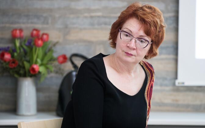 Яна Тоом не уверена, что она поведет за собой центристов на выборах в Пыхья-Таллинне.
