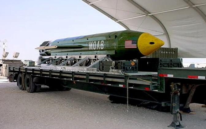 10-тонная авиабомба GBU-43/B MOAB (Massive Ordnance Air Blast, также известная как