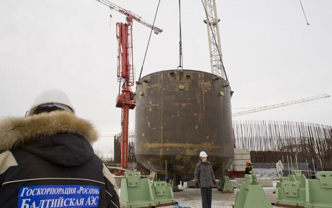 Balti tuumaelektrijaama ehitus Kalinigradi oblastis.