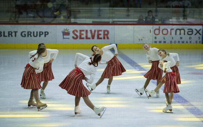 Iluuisutamine Tondiraba jäähallis