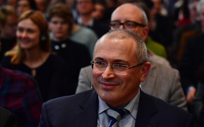 Mihhail Hodorkovski.