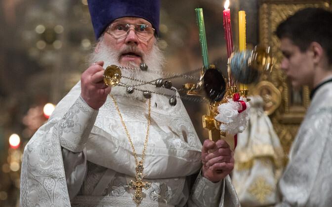 Ülestõusmispüha Aleksander Nevski kirikus Toompeal