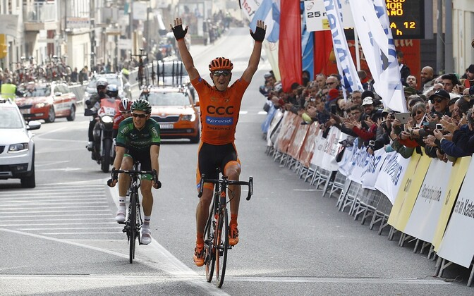 CCC Sprandi PolKowice jalgrattur Maceij Paterski