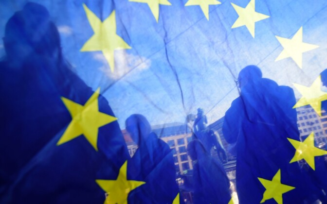 Флаг ЕС.
