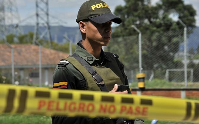 Колумбийский полицейский