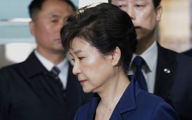 Lõuna-Korea ekspresident Park Geun-hye.