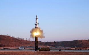 Põhja-Korea ballistilise raketi Pukguksong-2 katsetus tänavu veebruaris.