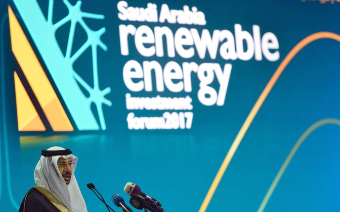 Saudi Araabia energeetikaminister Khaled al-Falih.