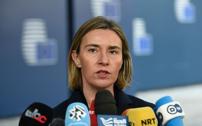 The European Union's foreign policy high representative, Federica Mogherini.