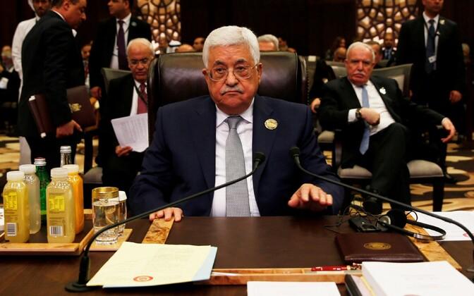 Palestiina president Mahmoud Abbas.