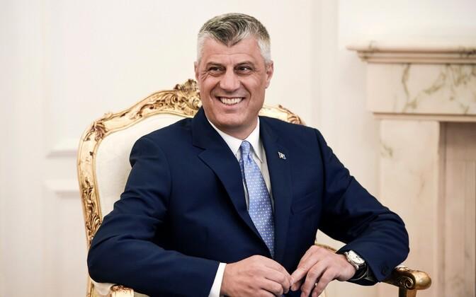 Президент Косово Хашим Тачи.