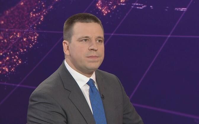 Prime Minister Jüri Ratas on