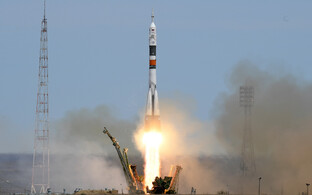 Sojuz MS-04 stardib Baikonuri kosmodroomilt.
