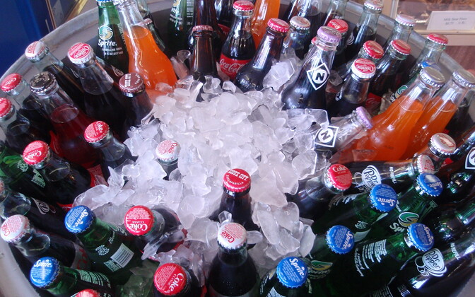 Газированные напитки. Иллюстративное фото.