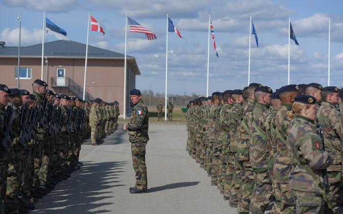 NATO liitlased saabusid Tapale.