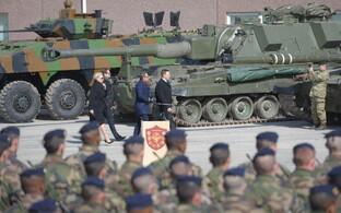 Контингент НАТО в Тапа. Иллюстративное фото.