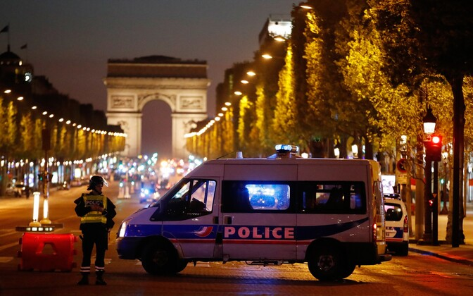 Police in Paris were attacked by a terrorist on Thursday. April 20, 2017.