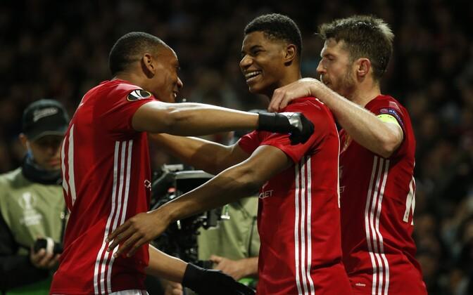 Manchester United, keskel Marcus Rashford