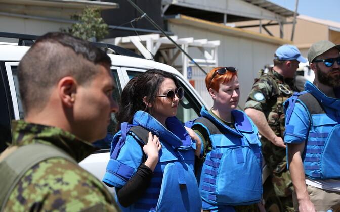 Elina Born ja sõdurid Liibanonis