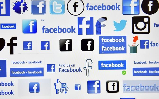 Facebooki logod.