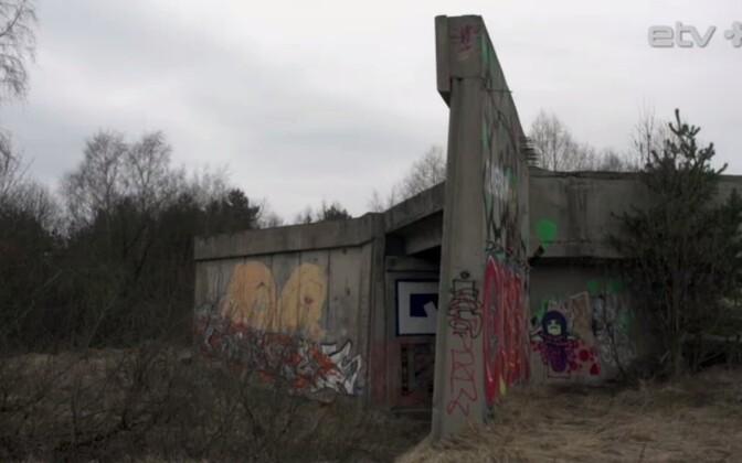 Заброшенное депо в Ласнамяэ.