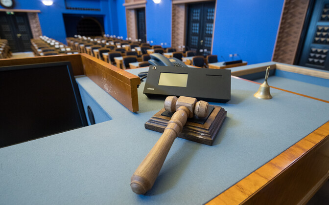 The Riigikogu comprises of 101 seats.