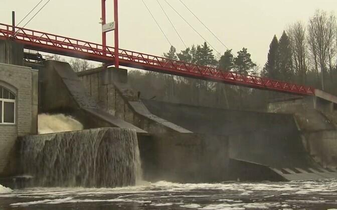 Linnamäe hüdroelektrijaam.